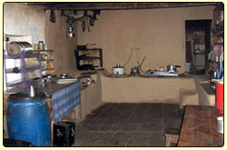 Kitchen Room  in Tea House of Trekking Trails in Nepal