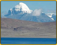 Mt.Kailash and Lake manasarovar