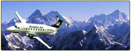 Everest Mountain Flight in Nepal by Buddha Air