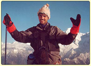 Rajan in the Himalaya