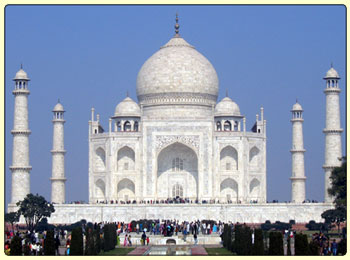 India Information, Taj Mahal Tour
